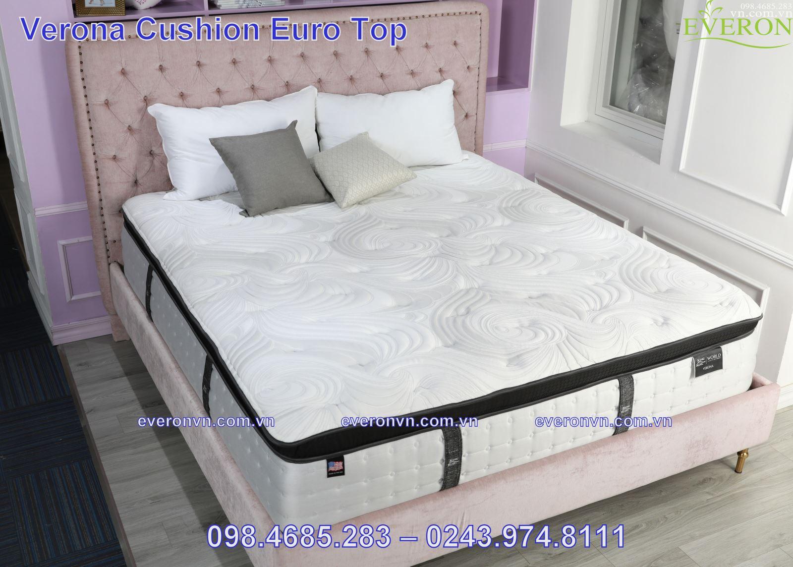 Đệm Lò Xo King Koil Verona Cushion Euro Top
