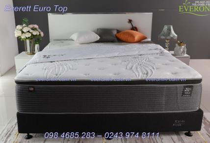 Đệm lò xo King Koil Everet Euro Top
